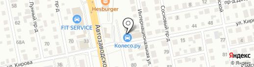 Завод готовых теплиц на карте Тольятти