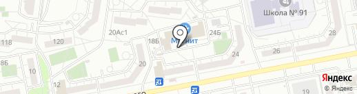 Красное & Белое на карте Тольятти