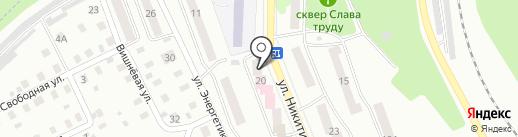Детская поликлиника на карте Жигулёвска