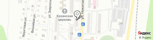 Мастерская по ремонту и пошиву одежды на карте Жигулёвска