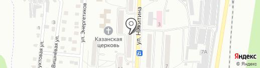 Швейная мастерская на карте Жигулёвска
