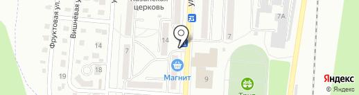 Киоск по продаже молочных продуктов на карте Жигулёвска