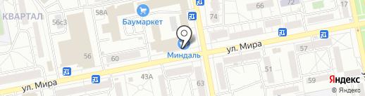 Миледи на карте Тольятти