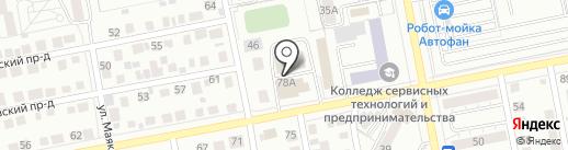 ПЛЮС на карте Тольятти
