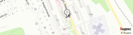 Аптека №127, МУП на карте Жигулёвска