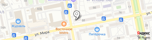 Бристоль на карте Тольятти