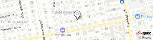 Автосервис на карте Тольятти