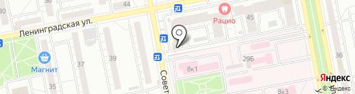Светлана, ТСЖ на карте Тольятти