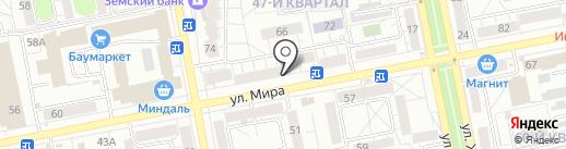 МакроСервис на карте Тольятти