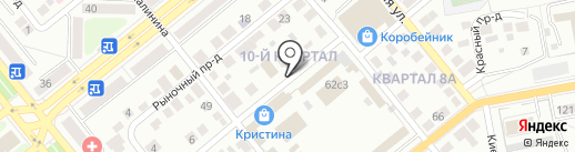 Айва на карте Тольятти