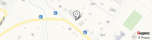 Бахтинское, ПО на карте Бахты