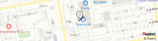 Светозон на карте Тольятти