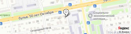 Пирожок на карте Тольятти
