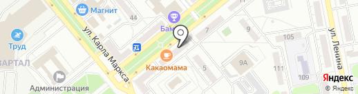 New MoJo на карте Тольятти