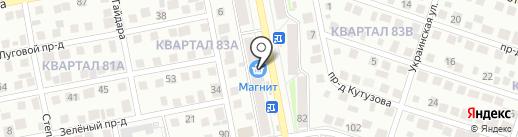 Магазин корейских салатов на карте Тольятти