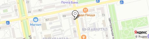 Прядки в порядке на карте Тольятти