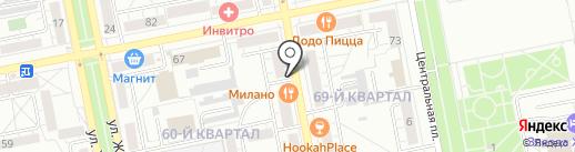 Аванти на карте Тольятти