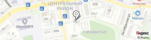 Сварог на карте Тольятти