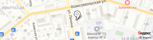 РТС-Банк на карте Тольятти