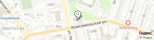 Веберит на карте Тольятти