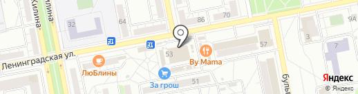 Тренинговый центр на карте Тольятти