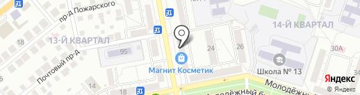 Астарта Плюс на карте Тольятти