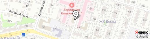 ГЕО-СЕРВИС на карте Тольятти