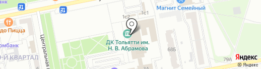 Успех на карте Тольятти