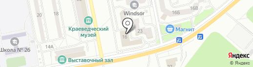 Межрегиональный институт дополнительного профессионального образования на карте Тольятти