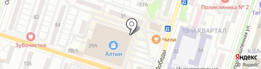 Спорт детям на карте Тольятти
