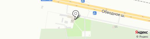 ТГК на карте Тольятти