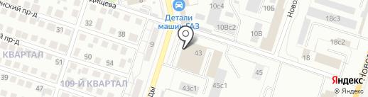 Городская Афиша на карте Тольятти