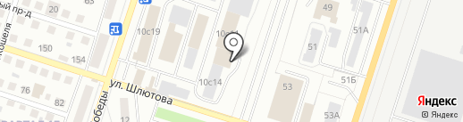 СЕНЕЖ-Дистрибуция на карте Тольятти
