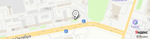 Адвокатский кабинет №756 на карте Тольятти