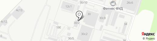 Техно Колор на карте Тольятти