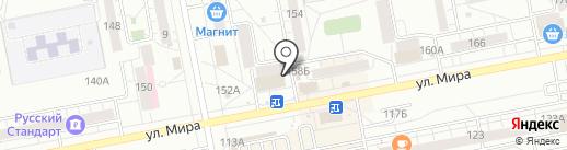 Старый город на карте Тольятти