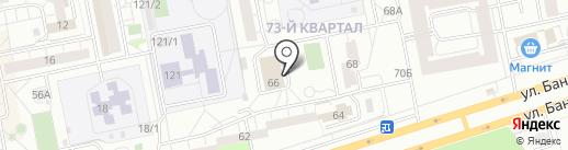 Управление Федеральной службы государственной регистрации, кадастра и картографии по Самарской области на карте Тольятти