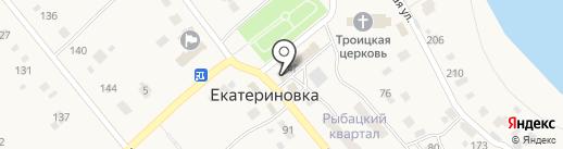 Поволжский банк Сбербанка России на карте Екатериновки