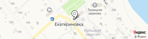 Сбербанк, ПАО на карте Екатериновки