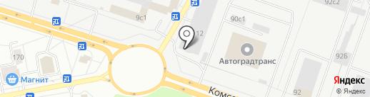 Победа на карте Тольятти