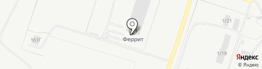 Бур-Новатор на карте Тольятти