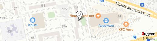Участковый пункт полиции на карте Тольятти