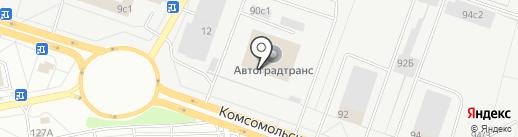 Автоградтранс на карте Тольятти