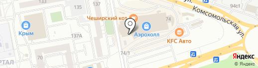 Джинсы & Ремни на карте Тольятти