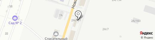 Строительно-транспортная компания на карте Тольятти