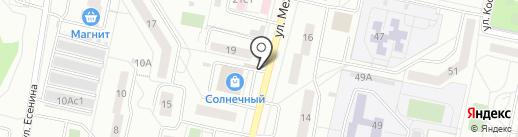Настроение на карте Тольятти