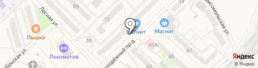 Мини-магазин на карте Кирова