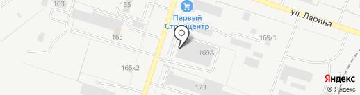 Балу-Мебель на карте Тольятти