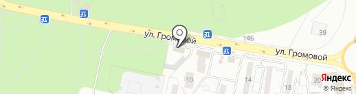 Зенит-Авто на карте Тольятти