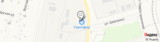 Компания по производству железобетонных колец на карте Жигулёвска